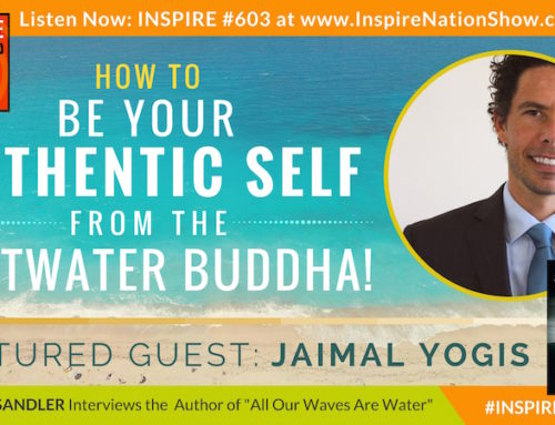 "INSPIRE #603: HOW TO BE YOUR AUTHENTIC SELF FROM THE SALT-WATER BUDDHA!!! (Jaimal Yogis, ""All Our Waves Are Water"")"