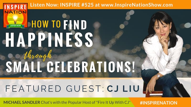 Michael Sandler & CJ Liu on finding happiness through the small celebrations in life.