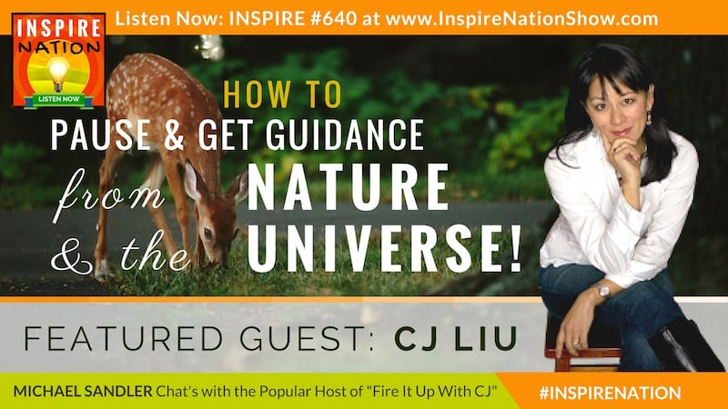 Michael Sandler and CJ Liu chat about the meaning behind animals showing up in their lives and signs from the universe!