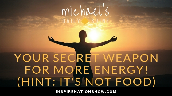Michael Sandler's blog on your secret weapon for more energy - Internal Tai Chi!